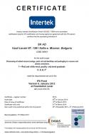Сертификат Intertek IFS Food Version 6